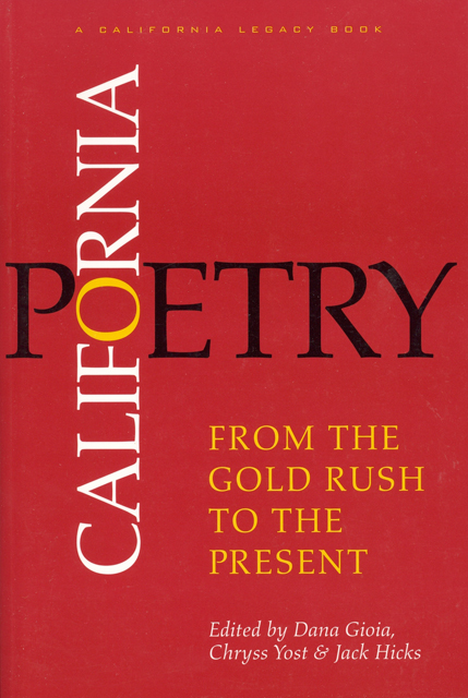 California Poetry: From the Gold Rush to the Present